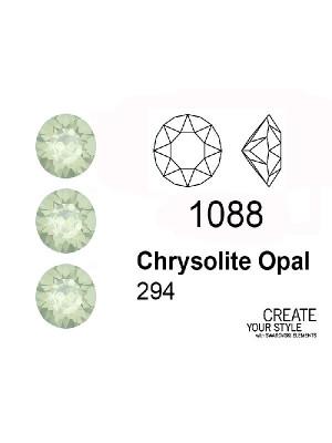 Swarovski Gemma Tonda Conica CHRYSOLITE OPAL - 1088