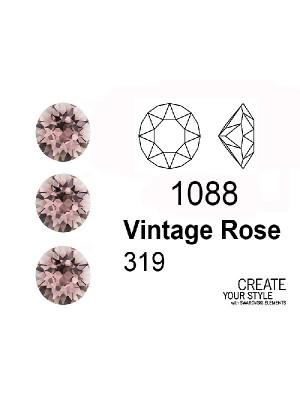 Swarovski Gemma Tonda Conica VINTAGE ROSE - 1088