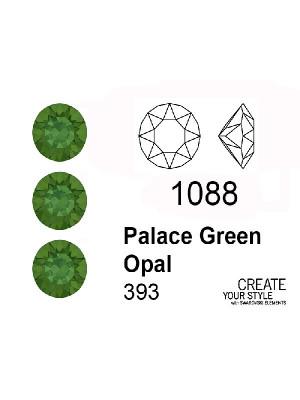 Swarovski Gemma Tonda Conica PALACE GREEN OPAL - 1088