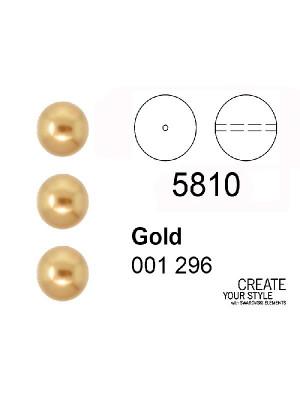 Swarovski Perla GOLD - 5810