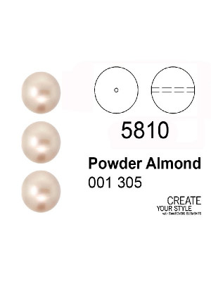 Swarovski Perla POWDER ALMOND - 5810