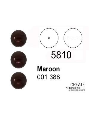 Swarovski Perla MAROON - 5810