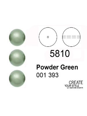 Swarovski Perla POWDER GREEN - 5810