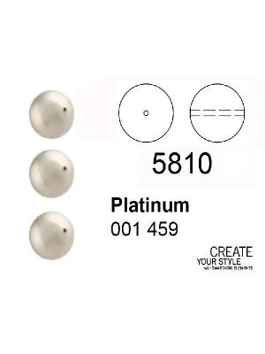 Swarovski Perla PLATINUM - 5810