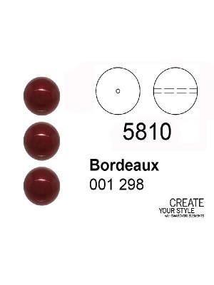 Swarovski Perla BORDEAUX - 5810