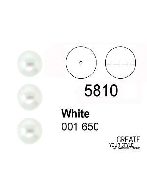 Swarovski Perla WHITE - 5810