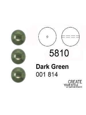 Swarovski Perla DARK GREEN - 5810
