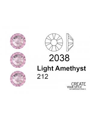 Swarovski Strass Termoadesivo LIGHT AMETHYST - 2038