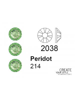 Swarovski Strass Termoadesivo PERIDOT - 2038