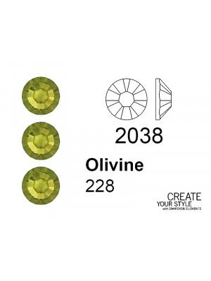Swarovski Strass Termoadesivo OLIVINE - 2038
