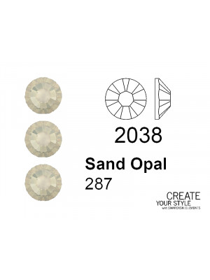 Swarovski Strass Termoadesivo SAND OPAL - 2038