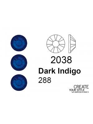 Swarovski Strass Termoadesivo DARK INDIGO - 2038