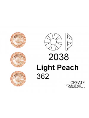 Swarovski Strass Termoadesivo LIGHT PEACH - 2038
