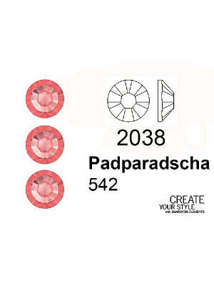 Swarovski Strass Termoadesivo PADPARADSCHA - 2038