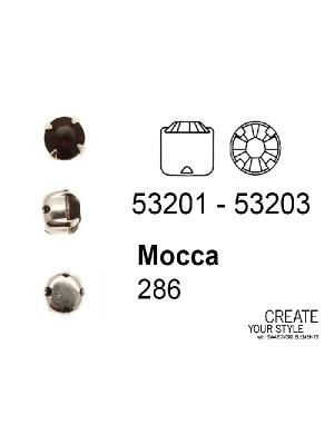 Swarovski Strass da cucito MOCCA - 53201 - 53203