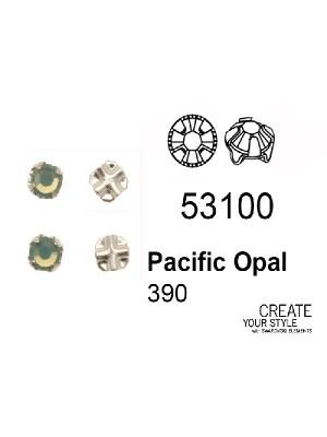 Swarovski Strass da cucito PACIFIC OPAL - 53100