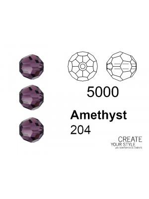 Swarovski Tondo Sfaccettato AMETHYST - 5000