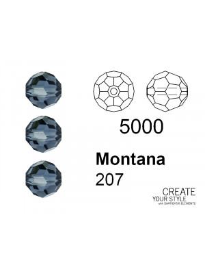 Swarovski Tondo Sfaccettato MONTANA - 5000