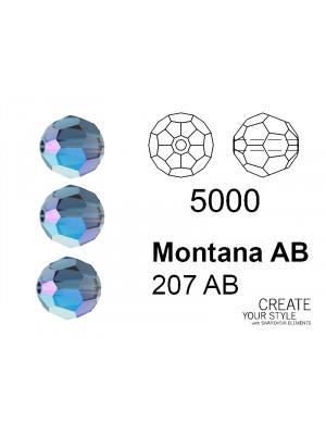 Swarovski Tondo Sfaccettato MONTANA AB - 5000