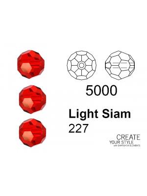 Swarovski Tondo Sfaccettato LIGHT SIAM - 5000