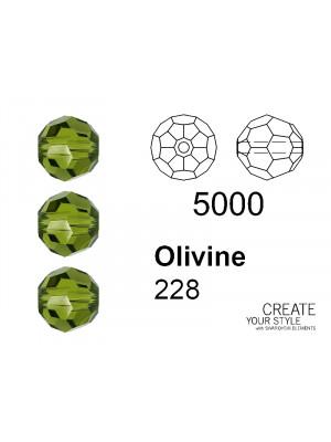 Swarovski Tondo Sfaccettato OLIVINE - 5000