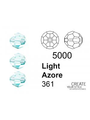 Swarovski Tondo Sfaccettato LIGHT AZORE - 5000