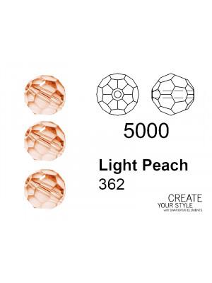 Swarovski Tondo Sfaccettato LIGHT PEACH - 5000