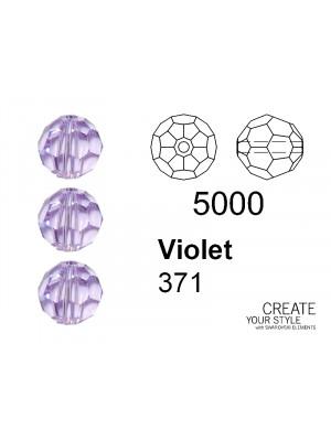 Swarovski Tondo Sfaccettato VIOLET - 5000