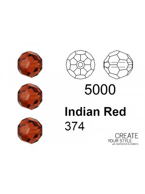 Swarovski Tondo Sfaccettato INDIAN RED - 5000