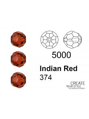 Swarovski Tondo Sfaccettato INDIAN RED - 5000