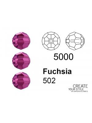 Swarovski Tondo Sfaccettato FUCHSIA - 5000