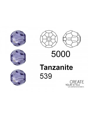 Swarovski Tondo Sfaccettato TANZANITE - 5000
