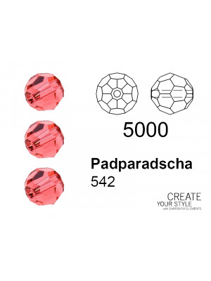 Swarovski Tondo Sfaccettato PADPARADSCHA - 5000