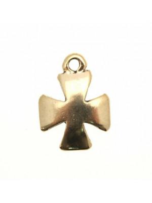 Ciondolo a forma di croce celtica liscia 17 mm.