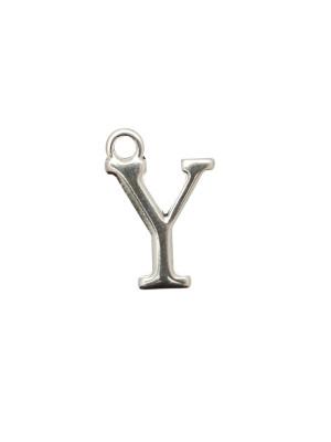"""Ciondolo a forma di lettera """"Y"""", 10x16 mm."""