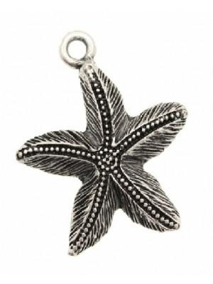 Ciondolo a forma di stella marina gigante a spina 44 mm.