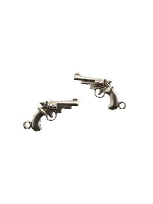 Ciondolo a forma di pistola, 17x30 mm.