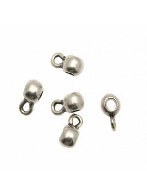 Distanziatore a boccale a forma di palla liscia, 6x12 mm.