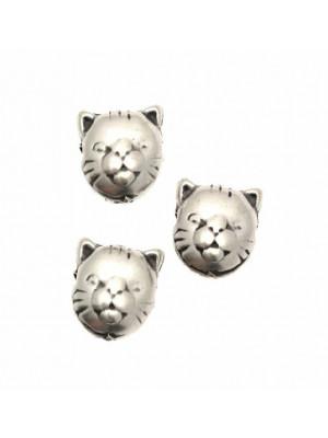 Distanziatore a forma di testa di gattino, 12x12 mm.