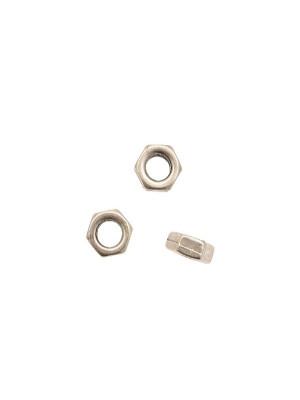Distanziatore a rondella a forma di bullone esagonale liscio, 10,8x4,4 mm.