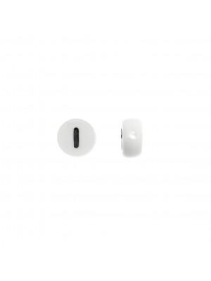 """Distanziatore in resina con disegno numero """"1"""", 7 mm."""