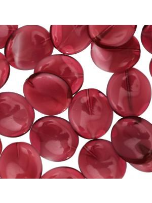 Elica grande, 20x18 mm., Rubino sfumato