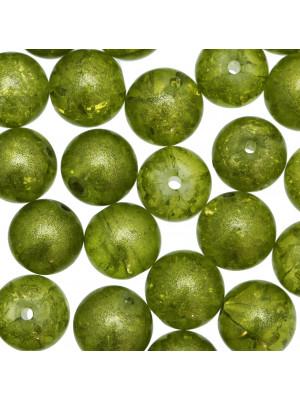 Palla brillantata, Verde oliva opaco