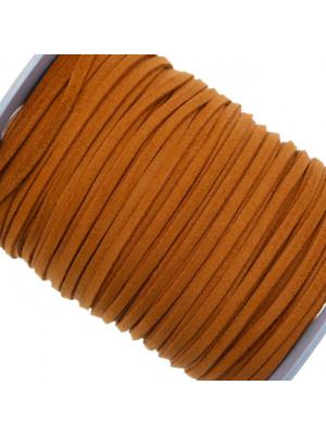 Alcantara, spessore 1,4x3 mm, colore Marrone Mattone