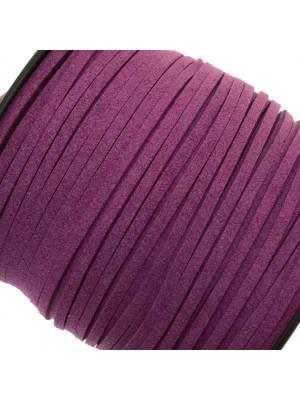Alcantara, spessore 1,4x3 mm, colore Ametista Scuro
