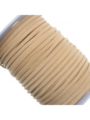Alcantara, spessore 1,4x3 mm, colore Ecru