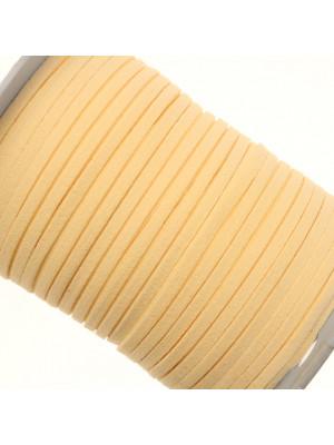 Alcantara, spessore 1,4x3 mm, colore Panna