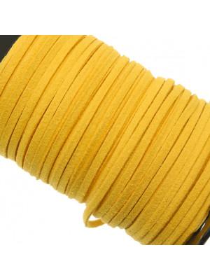 Alcantara, spessore 1,4x3 mm, colore Giallo