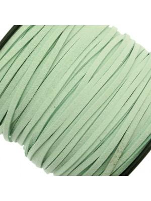 Alcantara, spessore 1,4x3 mm, colore Verdino Chiaro