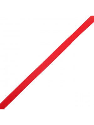 Cordoncino piatto in eco pelle, largo 5 mm., colore Rosso